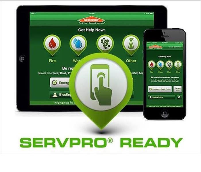 A photo of the ERP app on a phone and tablet.