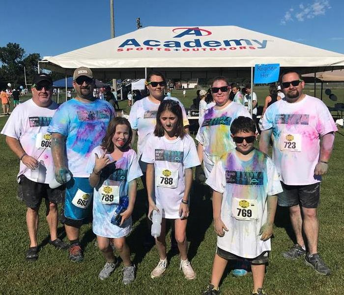 Community Behind The Smile, TyDy4Tyler Color Run